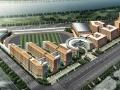 [湖北]现代风格中学校园建筑设计方案文本(含CAD)