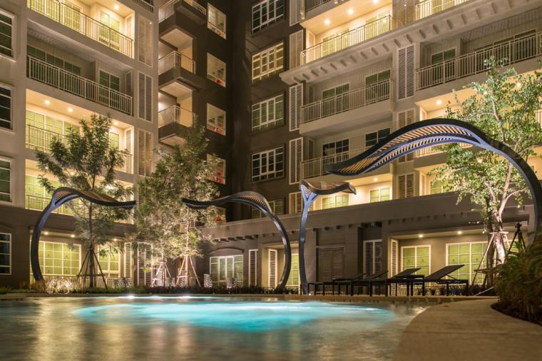 泰国秋季公寓楼小区_13
