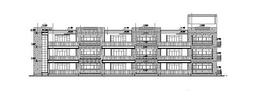 3层九班3006平米幼儿园施工图设计方案