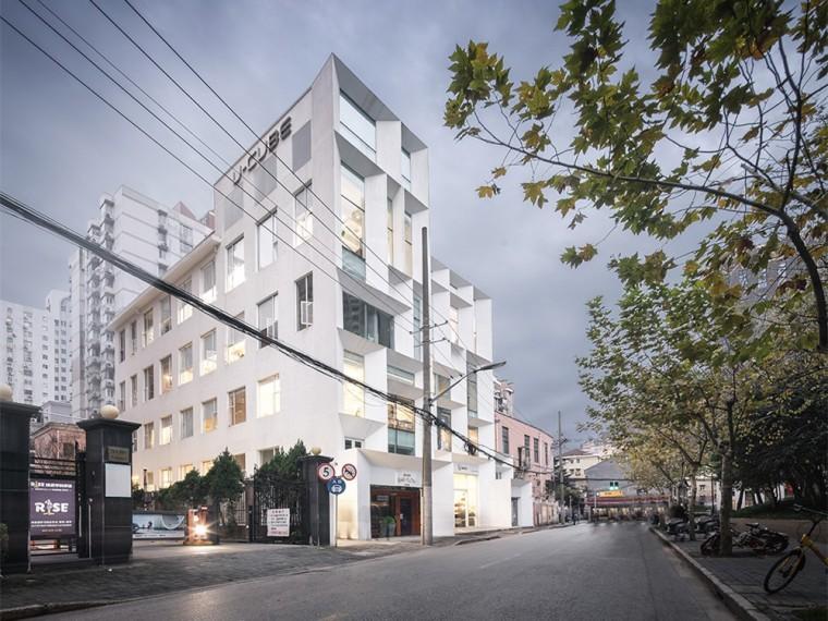上海华山路U-CUBE办公大楼改造