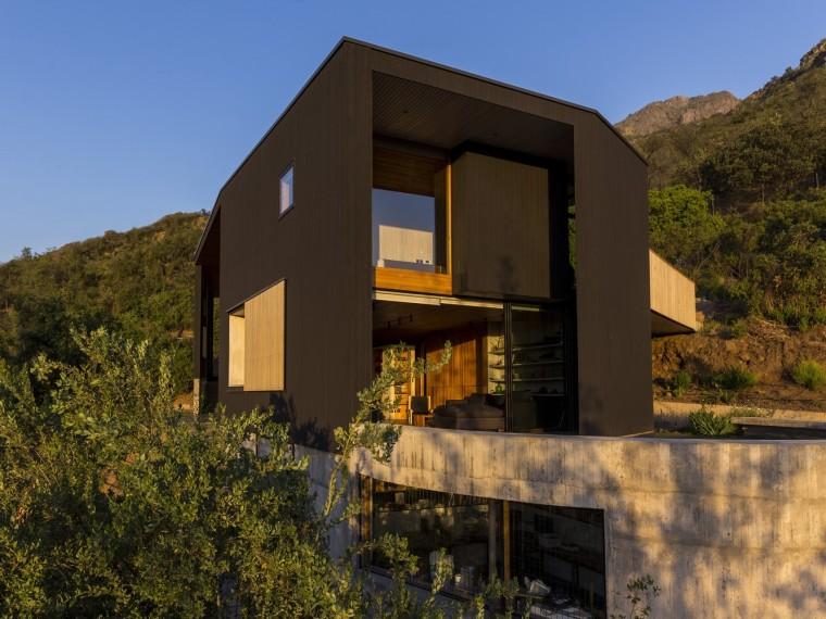 智利生长于自然间的住宅
