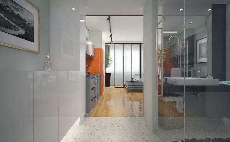 年轻极客的单身公寓设计