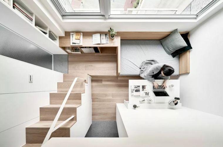 一个人的豪宅——17.6㎡极小公寓_2