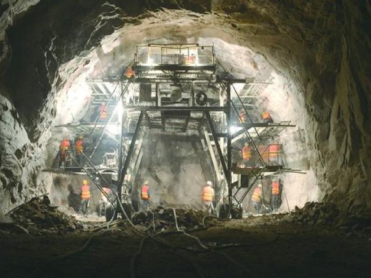 高速公路隧道洞身开挖开工报告