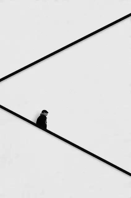人与建筑,一首无言的诗。_6