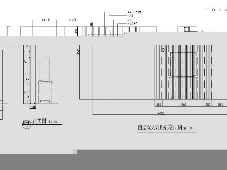 精装休闲娱乐主题酒店室内设计施工图_7