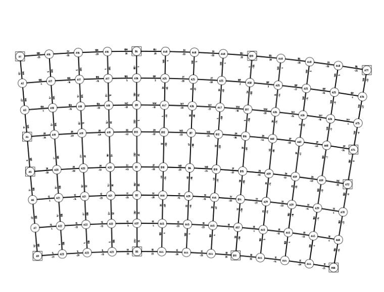 网架屋面结构施工图(CAD、10张)