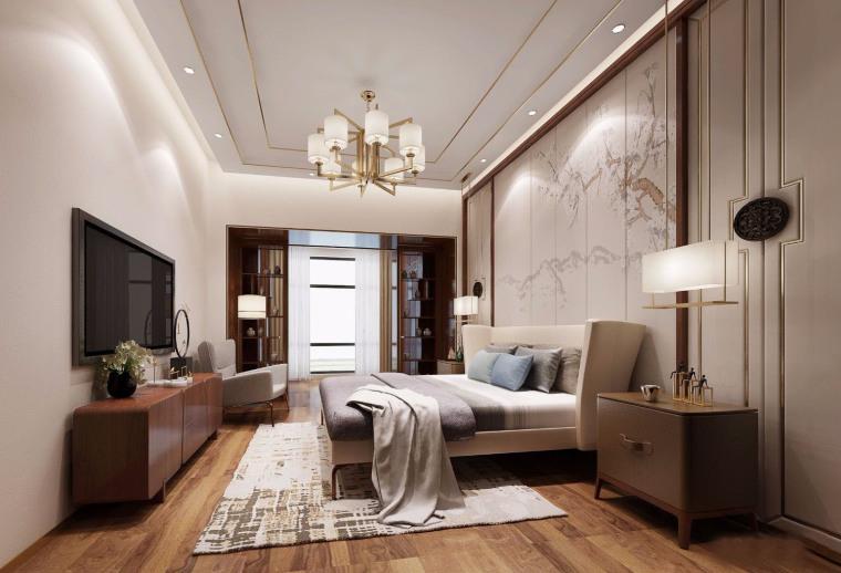 新中式风格的住宅-住宅装修案例-筑龙室内设计论坛