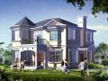 两层小别墅建筑施工图带效果图