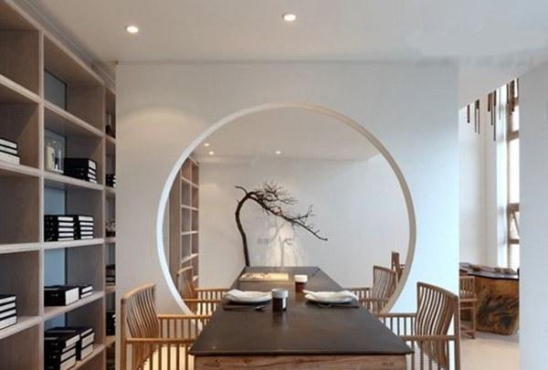 [中国风]新中式客厅装修效果图,这样的新中式装修简直美哭!