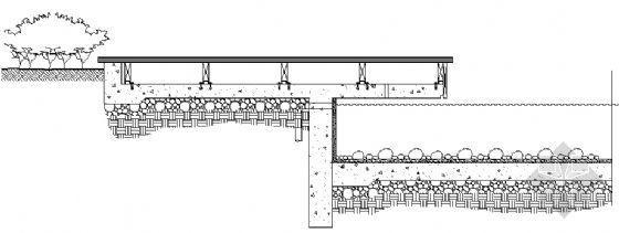 临水平台平剖面图