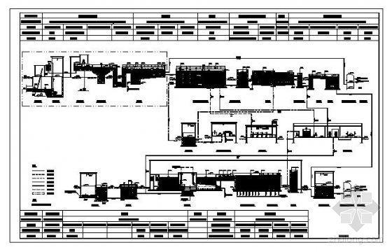某污水处理厂工艺流程图