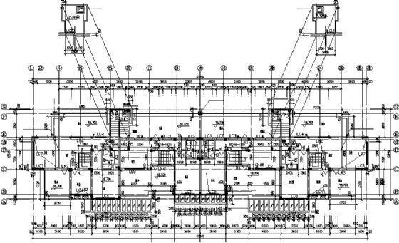 七层住宅建筑施工图-3