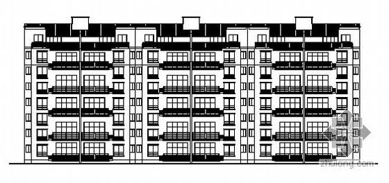遵义市某五层半复式住宅楼建筑结构施工图