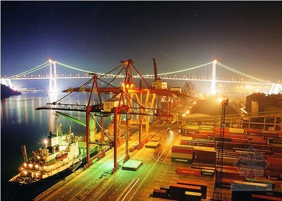 [杭州]码头夜景照明工程商务投标书(全套报表)