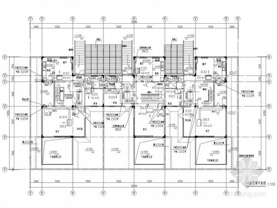 多层别墅空调通风系统设计施工图
