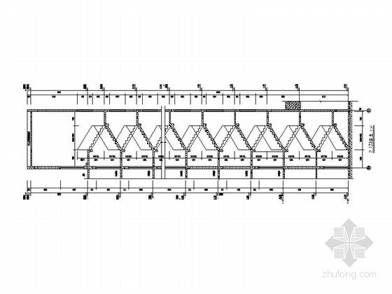 [安徽]30层现代风格住宅建筑施工图(棚户区改造)-30层现代风格住宅建筑局部大样图