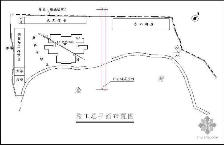 四川某安置房项目施工组织设计(砖混结构 进度计划)