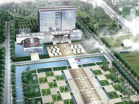 [温州]某行政管理中心建筑设计方案