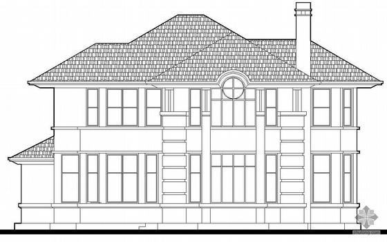 某二层别墅建筑扩初图