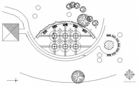 住宅小区部分景观设计施工图