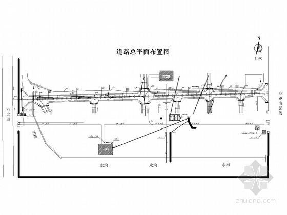 [四川]市政道路实施性施工组织设计94页附CAD图(道路 排水 电气)