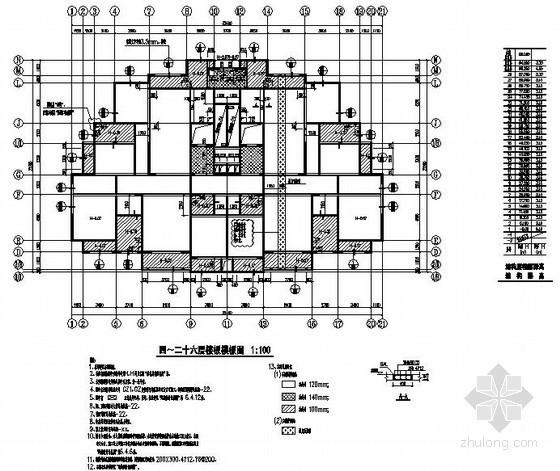 [江苏]剪力墙住宅结构设计制图标准