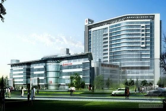 [天津]医院病房楼、后勤楼施工组织设计(三维效果 图文并茂)