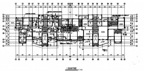 32层剪力墙住宅结构施工图(平法图)