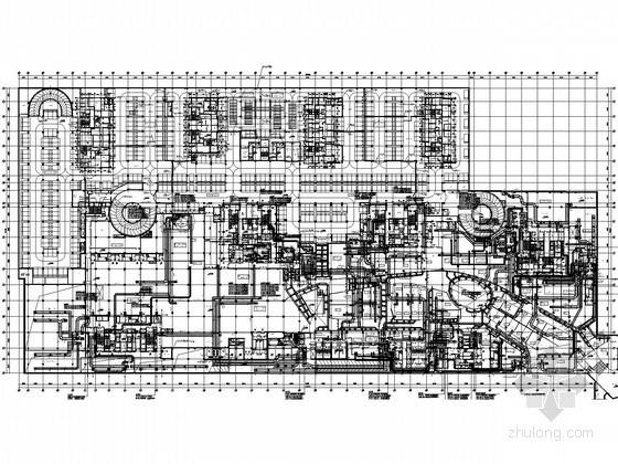 [沈阳]大型广场综合体暖通空调全套施工图268张(50万平大院设计详图丰富)