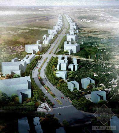 西安道路绿化及人行道设计规划方案