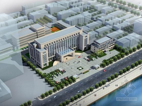 [山东]7层行政办公楼建筑设计方案文本