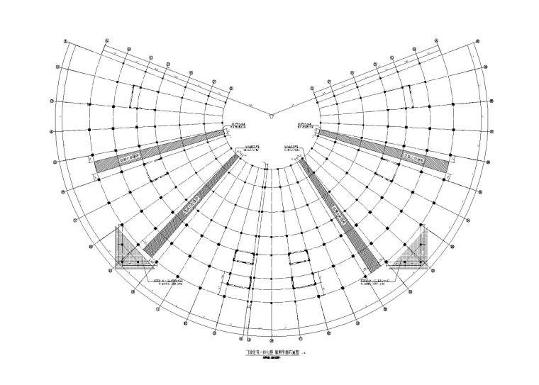成都奥斯迪医院(门诊楼+辅助用房+地下室)框剪结构施工图