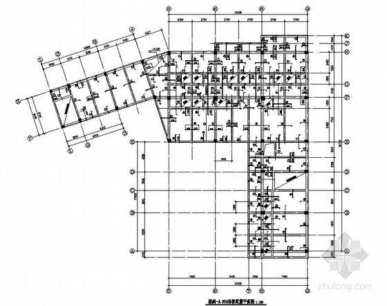 [青岛]框架结构综合楼结构施工图(二层 条形基础)