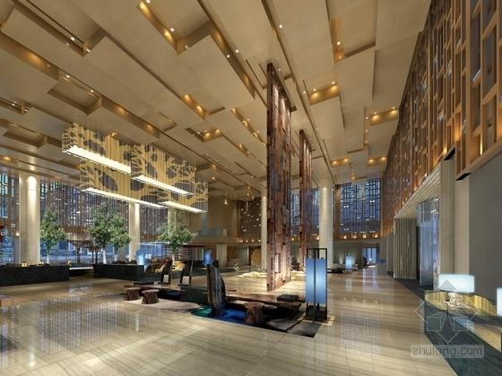 [张家界]知名国际假日超五星級酒店装修效果图