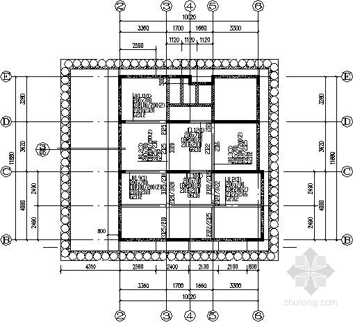 5层私人住宅混凝土结构施工图
