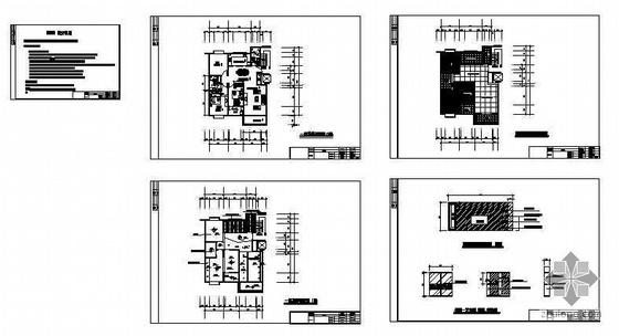 某三室两厅装修图纸-4