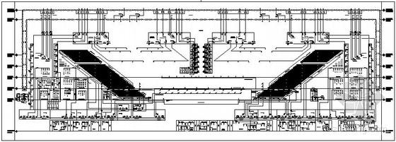 北京某在建奥运体育馆空气区域流程图