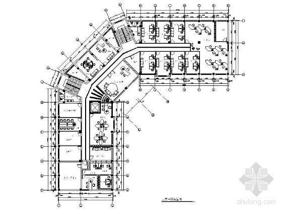 某办公楼平面设计图