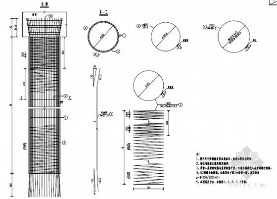 [贵州]多联预应力先简支后结构连续T梁桥图纸212张(知名大院 含涵洞)