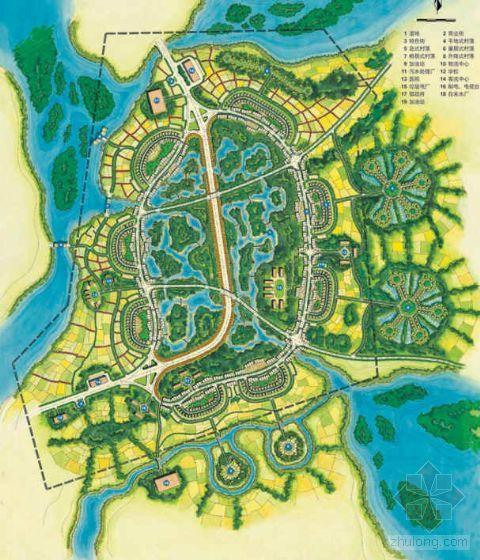 湖北石首某农居村落景观规划概念设计方案