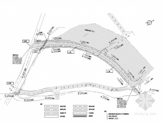 [重庆]市政道路排水施工图31张(26m宽路幅 雨污水分流)