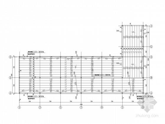 4层砌体办公楼结构加层钢结构施工图