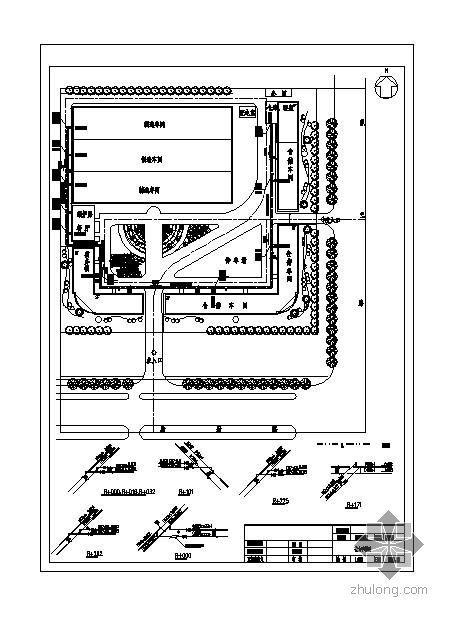 河北省某机械公司厂区工程综合管网施工图