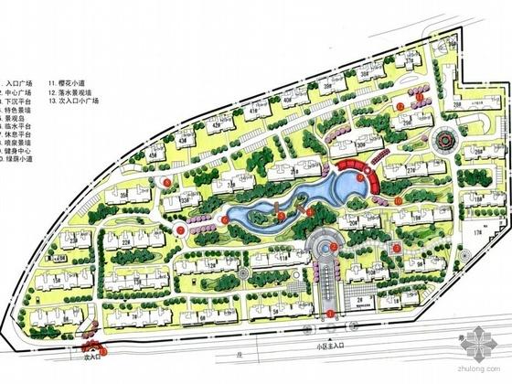 扬州居住区景观设计方案