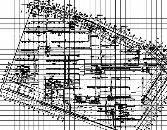 [深圳]17万平商住楼小区通风防排烟设计施工图纸