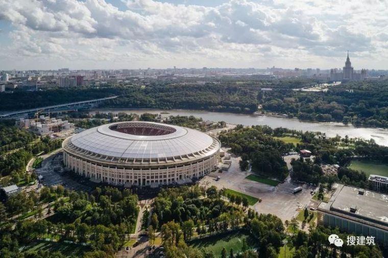 先睹为快!!2018年世界杯决赛的场馆 —— 卢日尼基体育馆