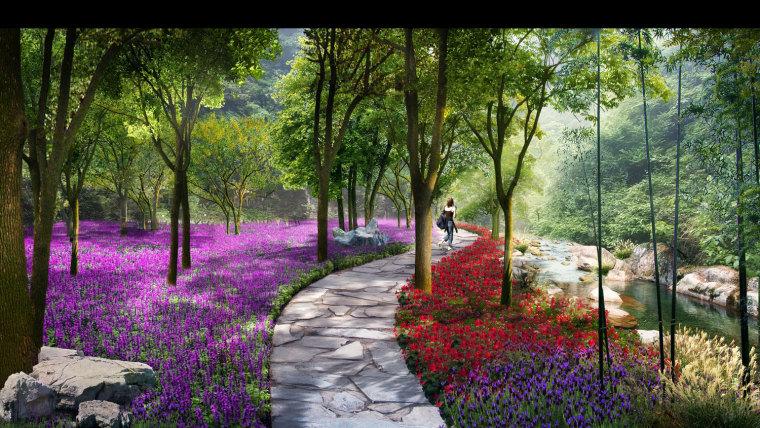 农旅景观:贵州云溪谷设计图