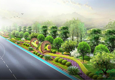 [河北]唐山湾三岛道路景观概念性设计