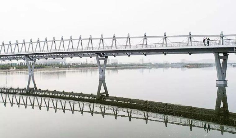 """太原""""汾河之冠""""人行景观桥,尽展结构技艺之美!_23"""